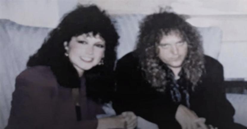Jeff Fenholt and wife Renee