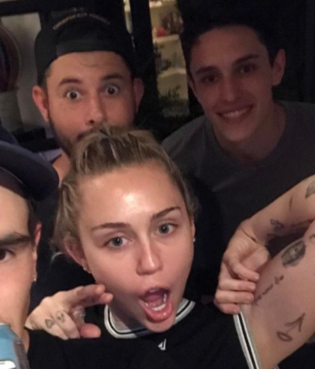 Dalton Gomez Miley Cyrus