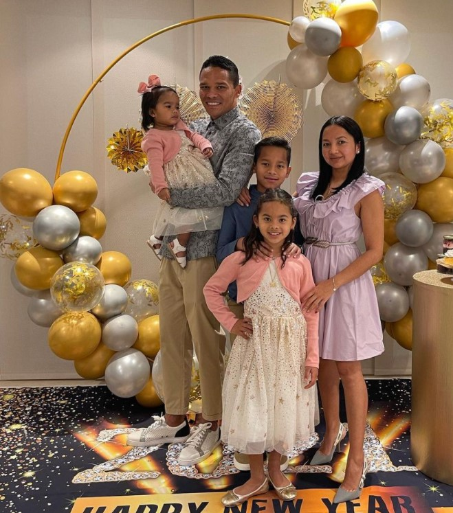 Carlos Bacca family