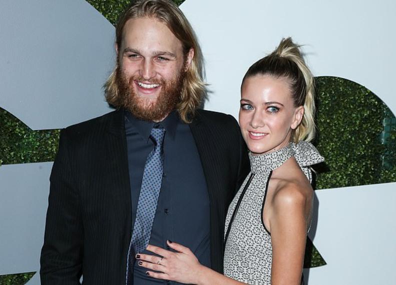Meredith and husband Wyatt Russell