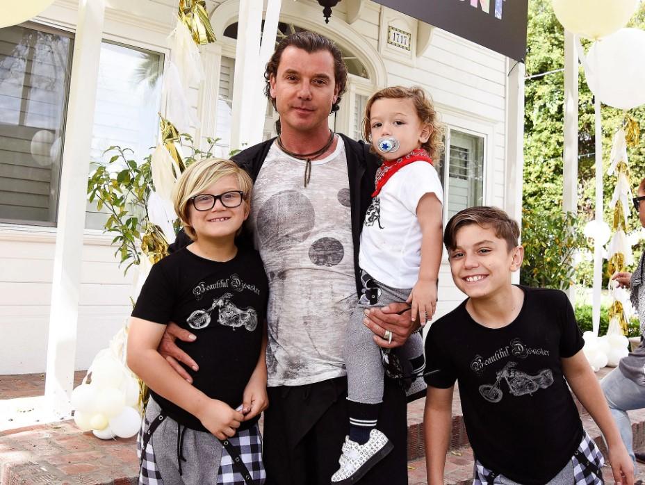 Gavin Rosdale kids