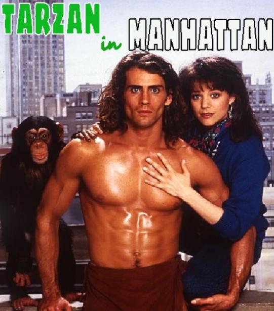 Lara played Tarzan in the 1989 TV movie Tarzan in Manhattan