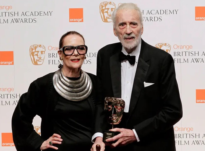 Christopher Lee wife
