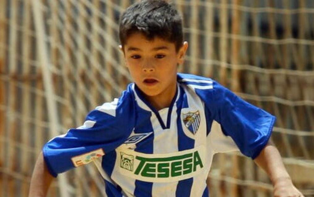 Brahim Diaz young