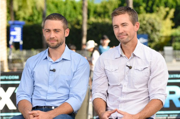 Caleb and Cody walker