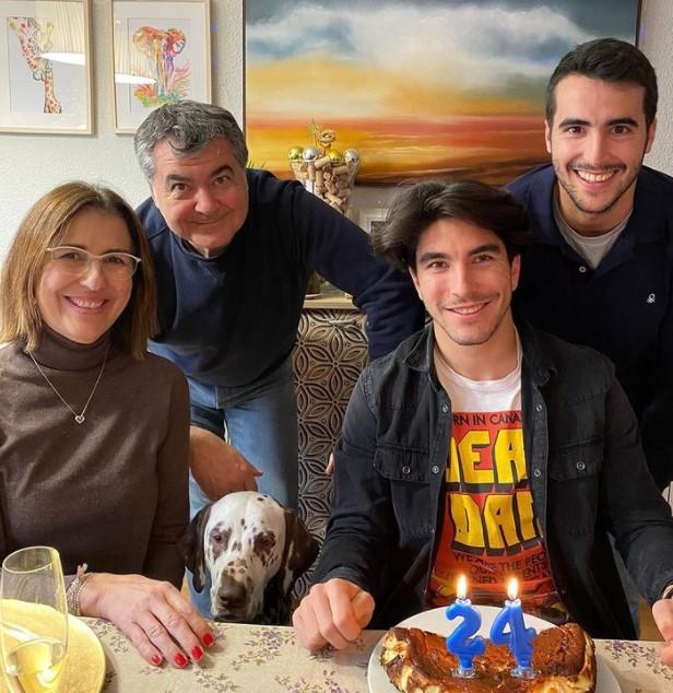 Carlos Soler family