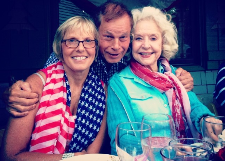 Franco and Debbi with Betty Weider