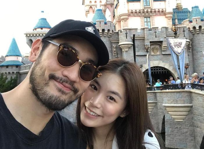 Godfrey Gao and Bella Su