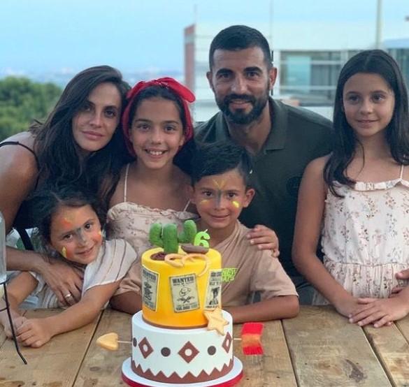 Raul Albiol family
