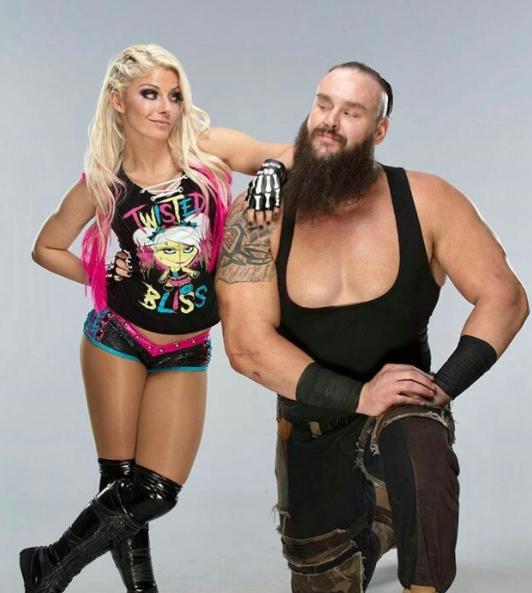 Braun Strowman and his rumored girlfriend, Alexa Bliss