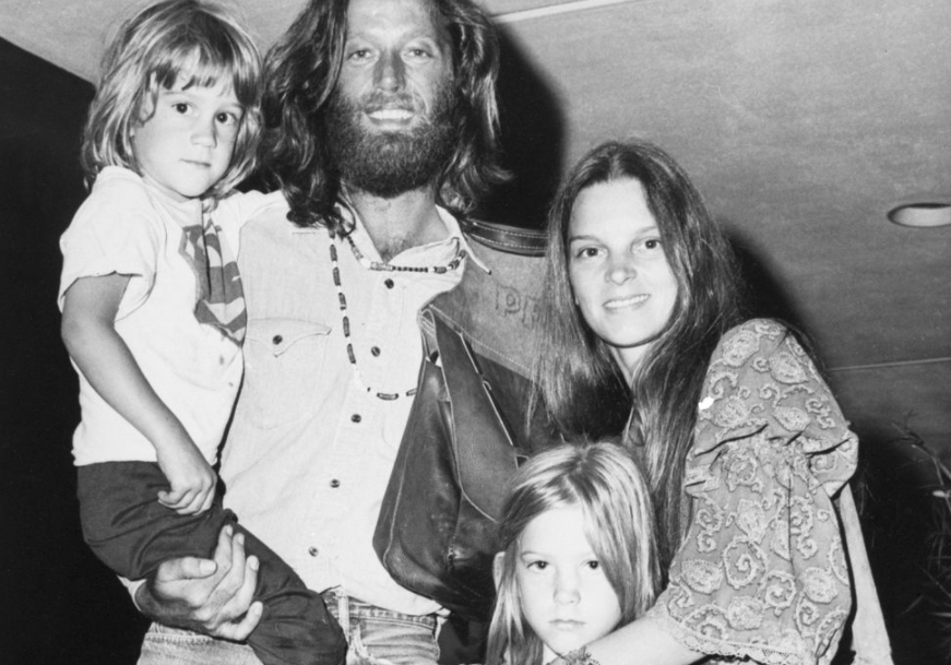 Susan and her ex-husband with kids