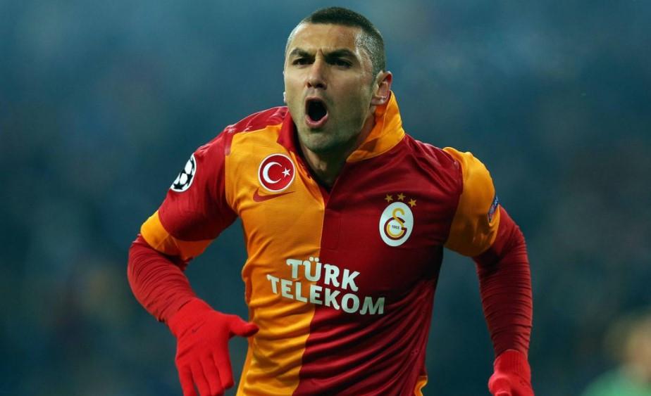 Burak Yilmaz Galatasaray @eurosport