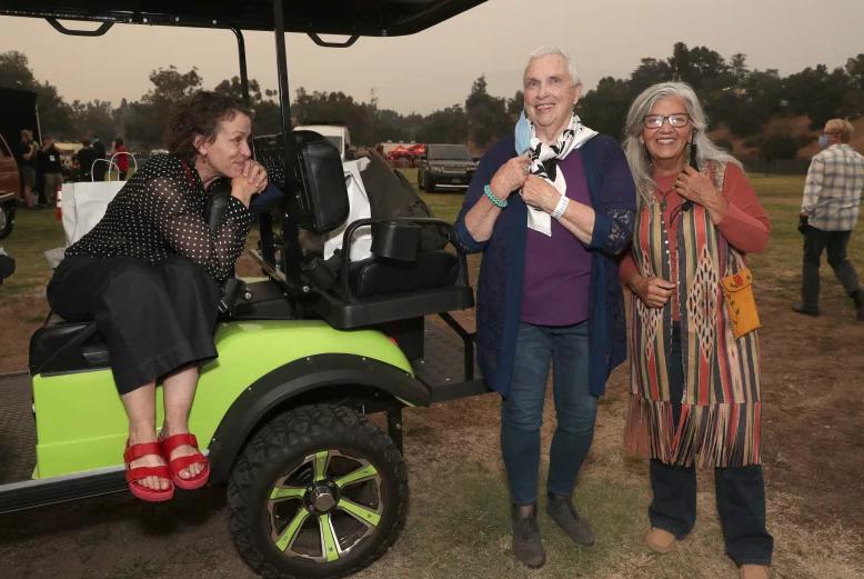 Frances McDormand, Swankie and Linda May