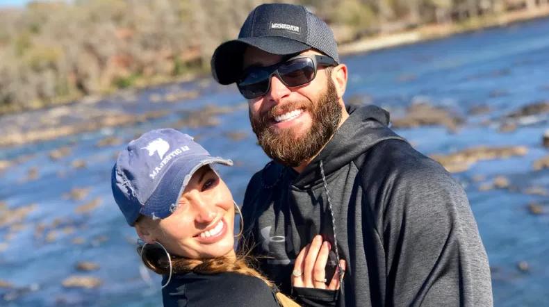 Brad Fiorenza and his ex-girlfriend, Britni Thorton