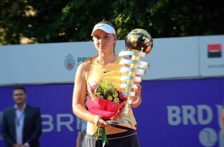 Elena Rybakina won her first WTA Title at the Bucharest Open