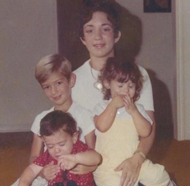 Mark Bezos with his siblings and mom, Jacklyn