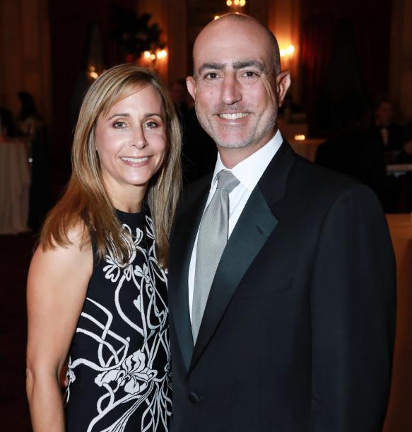 Mark Bezos's wife, Lisa Rogers