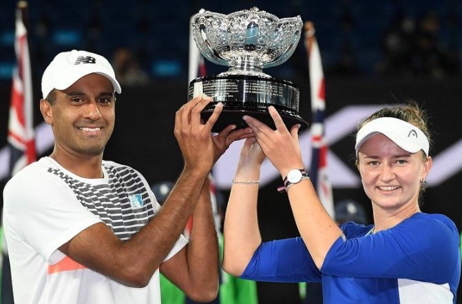 2021 Australian Open Mixed Doubles Champs 🏆🏆🏆