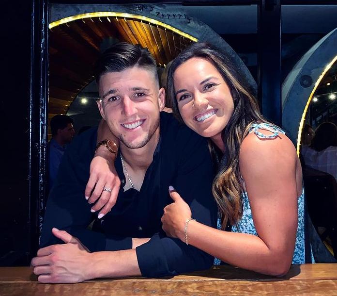 Desirae Krawczyk and her boyfriend, Andrew Harris