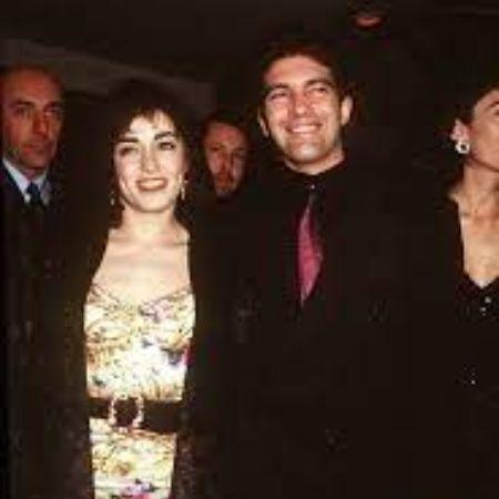 Ana Leza with her ex-husband Antonio Banderas