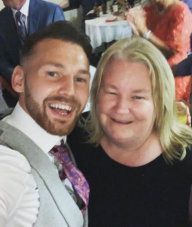 Martin Boyle mother