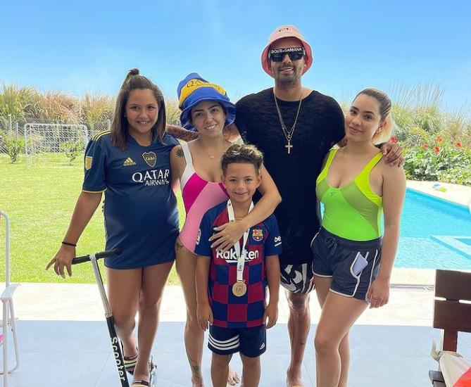Edwin Cardona Family