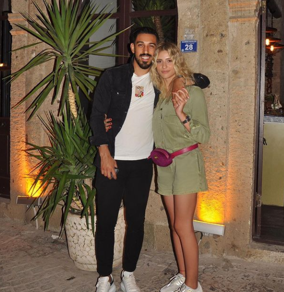 Irfan Kahveci and his Wife