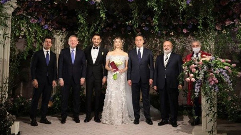 İrfan Can Kahveci and Gözde Doyran got married in March