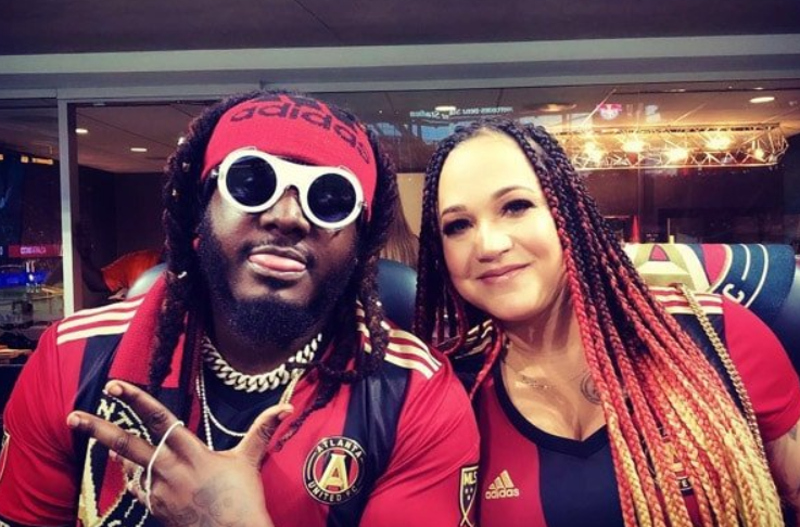 T-Pain and his wife, Amber Najm