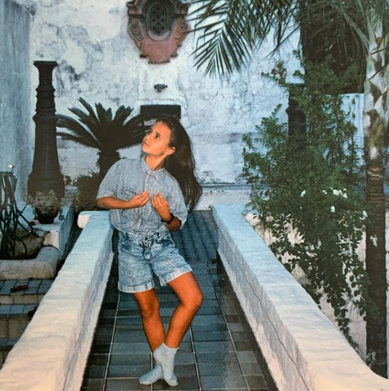 Young Age Picture of Jordana Brewster