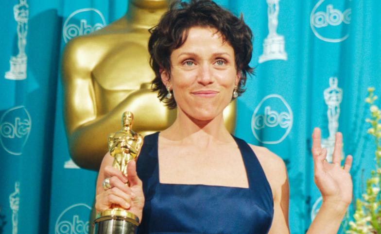 Award-winning actress, Frances McDormand