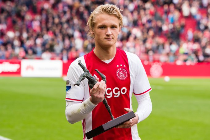 Kasper Dolberg Awards