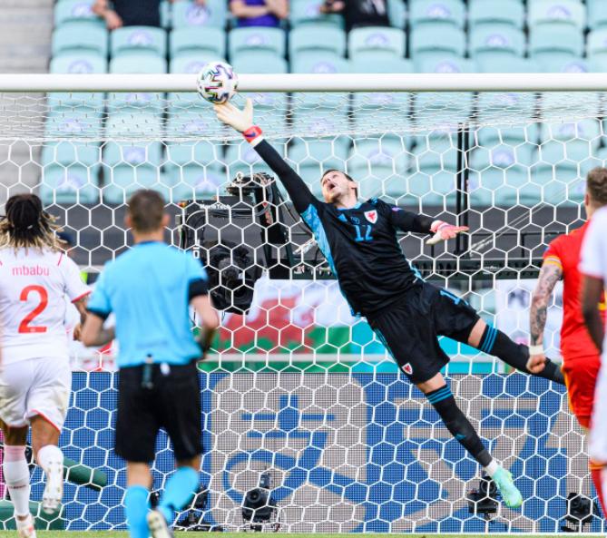 Danny Ward Saving The Ball