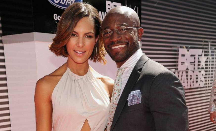 Taye Diggs and his ex-girlfriend, Amanza Smith Brown