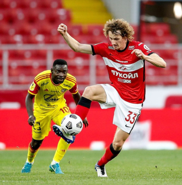 Alex Kral, player for Spartak Moscow and Czech national team
