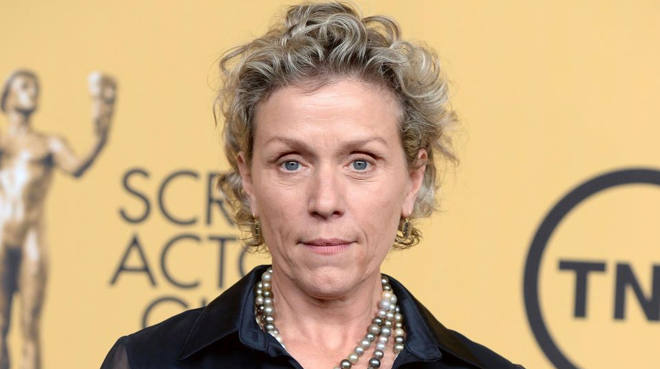 American actress and producer, Frances McDormand