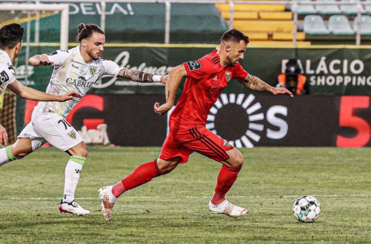 Haris Seferovic Heading The Ball