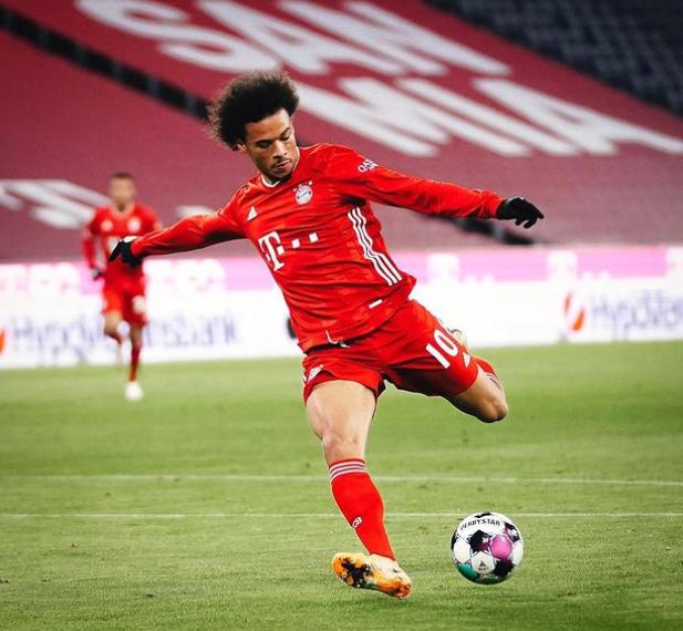 German Professional Footballer, Leroy Sane