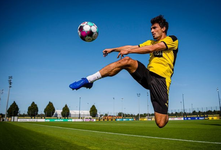 Mats Hummels, center-back for Bundesliga club Borussia Dortmund