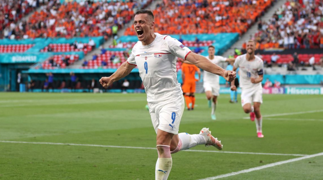 Tomas Holes Celebrated His Goal Against Netherlands in UEFA Euro 2020