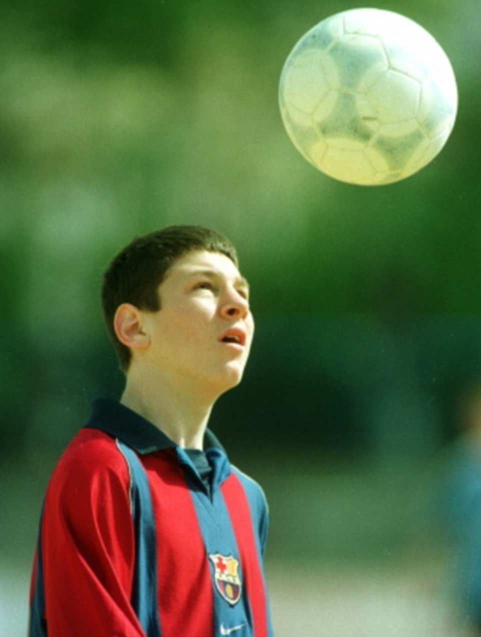 Lionel Messi young