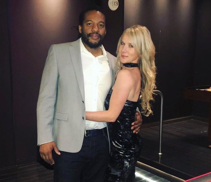 Herb Dean and his beautiful Russian wife