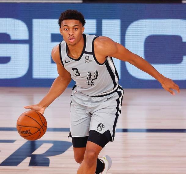 Keldon Johnson, American professional basketball player for San Antonio Spurs