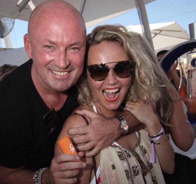 Charlie Brooks and her ex-boyfriend, Tony Truman