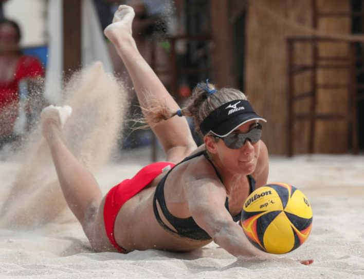 April Ross, beach volleyball player