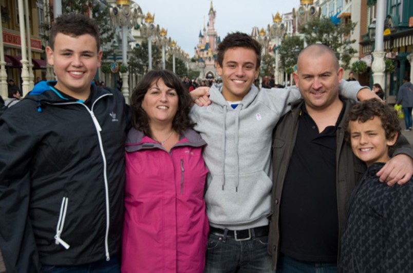 Tom Daley family
