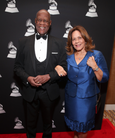Johnny Ventura and his wife Nelly Josefina Flores de Ventura