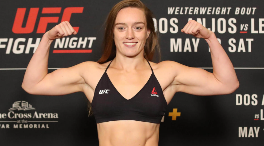 Aspen Ladd competes in the Bantamweight division of the UFC