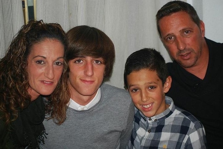 Bryan Gil family