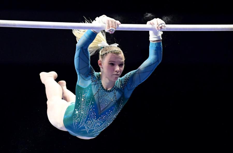 American artistic gymnast, Jade Carey